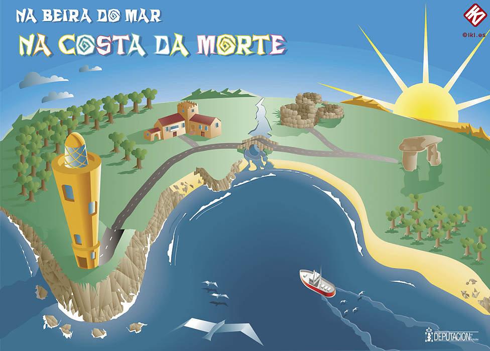 Costa da morte para Diputación da Coruña