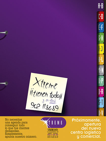Publicidad Xtreme data