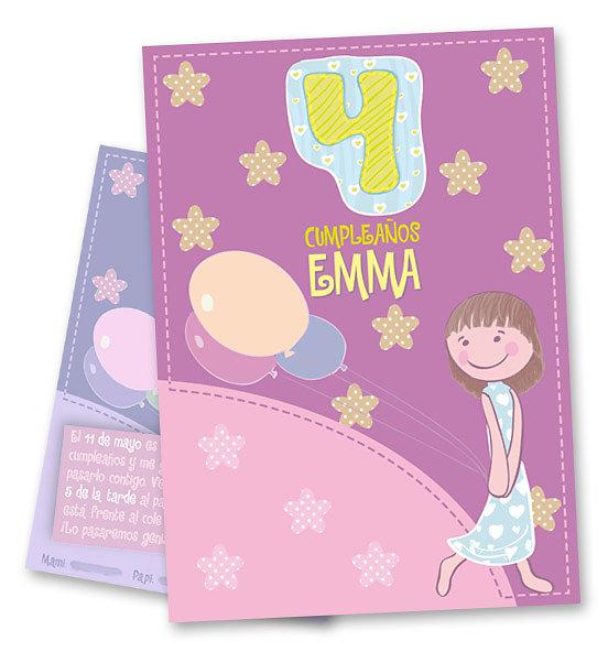 Invitación Emma 4